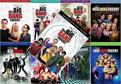 New Sealed Big Bang Theory Season 1 9 Complete Set Seasons 1 2 3 4 5 6 7 8 9