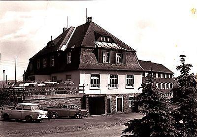 """Neudorf , Erzgeb. , Hotel """"Vierenstraße"""" ,DDR , Ansichtskarte"""