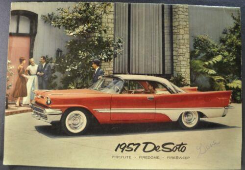 1957 DeSoto Large Prestige Brochure Sportsman Fireflite Firedome FireSweep Wagon
