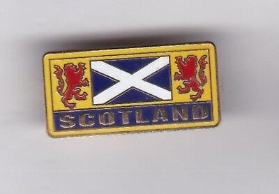 Scotland - lapel badge No.6 brooch fitting