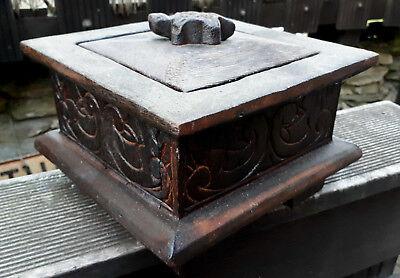 20x13cm Schatz Schmuck Holz kiste Schatulle Kästchen Box  - 4 Fächer