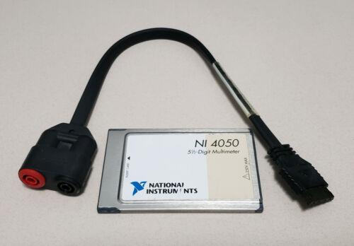 National Instruments NI 4050 digital multimeter card PCMCIA