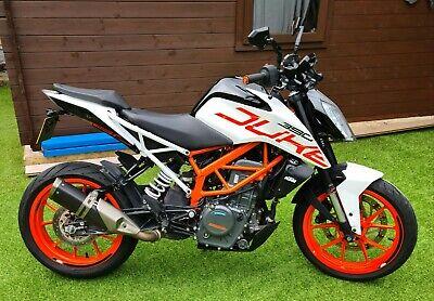 KTM 390 Duke **low miles**