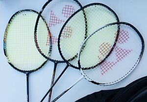 Badminton Racquets with Bags