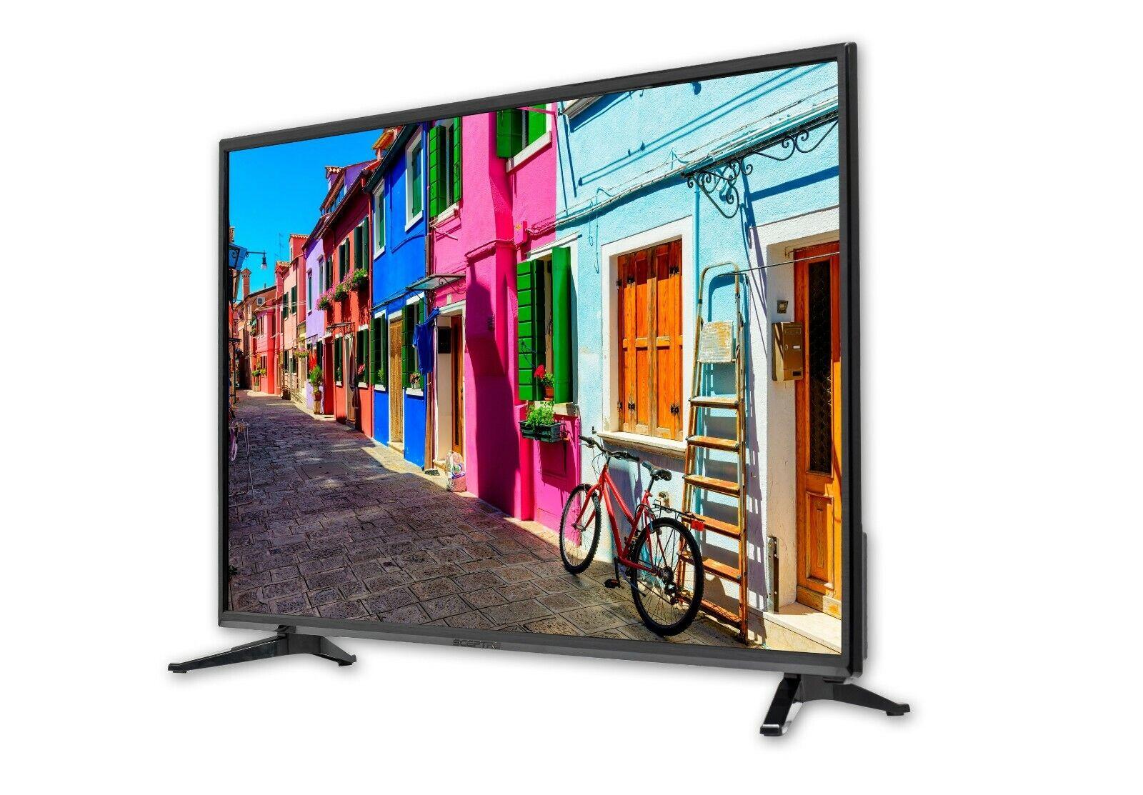 "40"" Razor Sharp Clarity Dazzling Colors Class FHD (1080p) LED TV QAM Tuner"