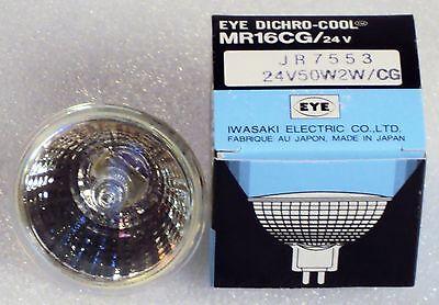 Eye Dichro-cool Mr16cg 40v Jr7553 50w Bulb Lamp Iwasaki Electric Japan New Nos
