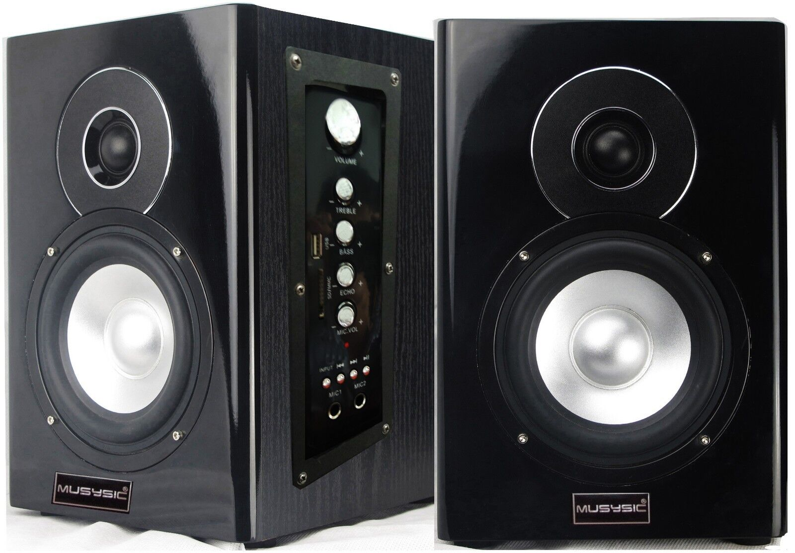 "Professional 400W 5"" Active/Powered Studio Monitor Speakers"