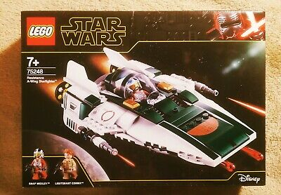 LEGO STAR WARS (75248) RESISTANCE A-WING STARFIGHTER. BRAND NEW.