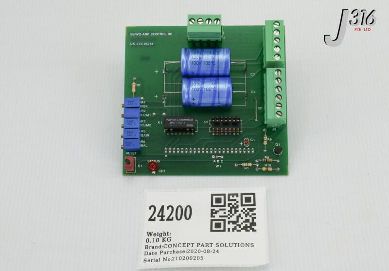 24200 Copley Ctrls Pcb, Servo-amp Ctrl Bd, 372-36312 (new) S/s 372-36314
