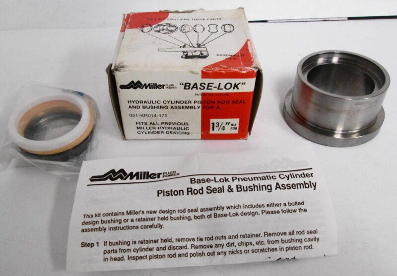 Miller 051-KR014-175 Hydraulic Cylinder Rod Seal And Bushing Assembly