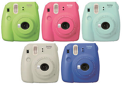 Fujifilm Instax Mini 9 Instant Camera - Blue , Green, Pink, or Gray