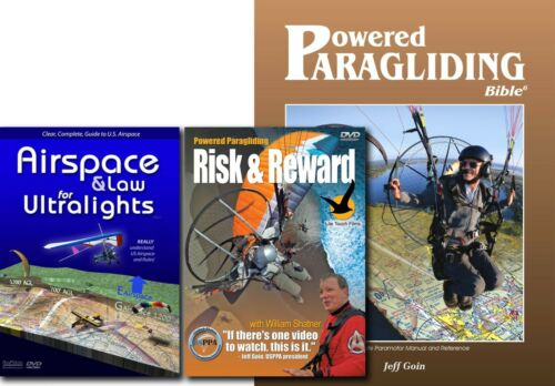 PPG Combo: PPG Bible, Risk & Reward & Airspace: Powered Paragliding, Paramotor