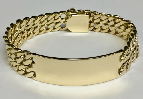 10k Solid Yellow Gold Men