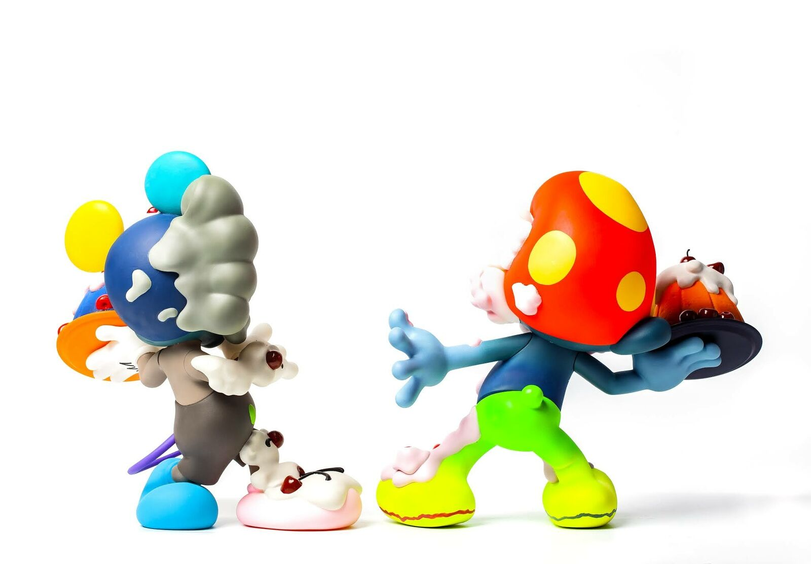 【Pre-Order】 Fools Paradise Sweet Conflict EP2 Smurf Toad Kaws Designer Vinyl