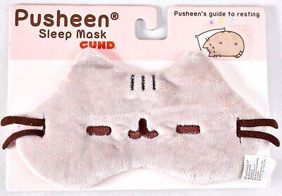 "GUND Pusheen The Cat Plush Sleep Mask 7"" Pusheen's Guide To Resting 4053808 >NEW"