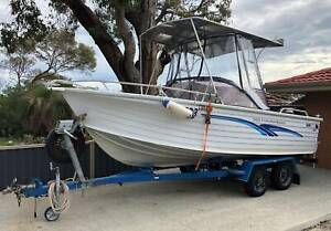 Quintrex 560 Freedom Sports...a great all-rounder boat