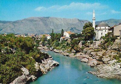 alte AK Mostar, Jugoslawien ungelaufen Ansichtskarte B027h