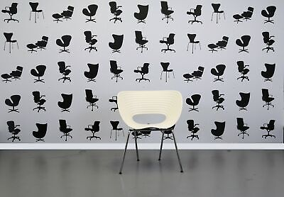 Refurbished Vitra Tom Vac Stacking Chair