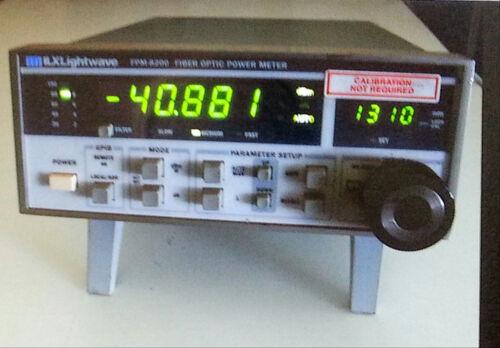 ILX Lightwave FPM-8200 Fiber Optical Power Meter