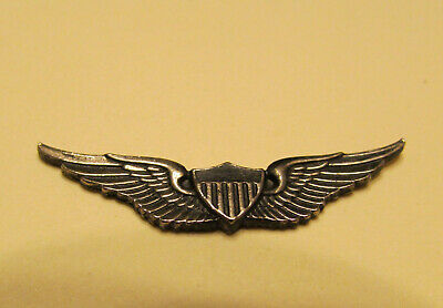 Vintage 1970's-1980's US Army Master Aviator Mini Wings ZIPPO LIGHTER EMBLEM ns*