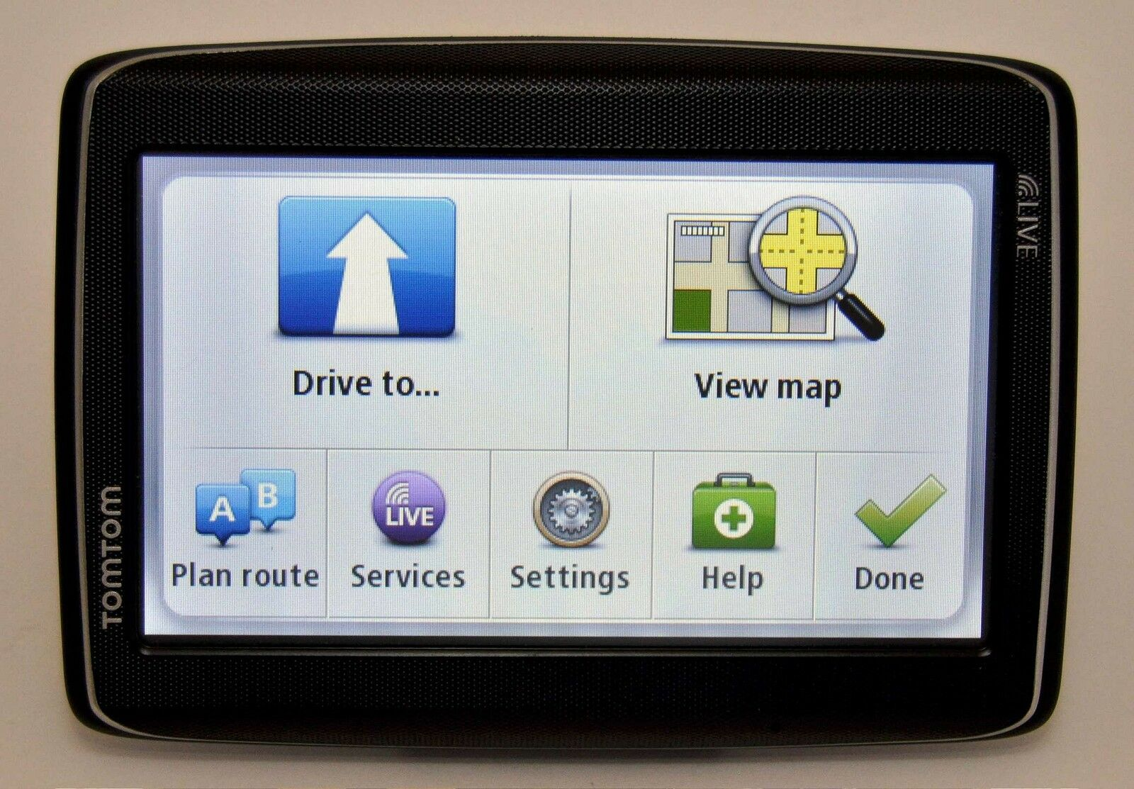 new tomtom go live 1535m car gps 5 lcd usa can mexico. Black Bedroom Furniture Sets. Home Design Ideas