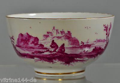 Cup Koppchen Oude Loosdrecht 1771-1784 Johannes de Mol sig.: MOL Camaieu Malerei