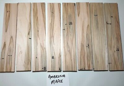 Exotic Wood Knife Scales Craft Wood You Choose Species Thickness Qty.