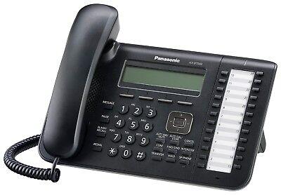Panasonic KX-DT543 Phone Black Digital 3-line LCD with Backlight 24 CO Key 24 Co-key -