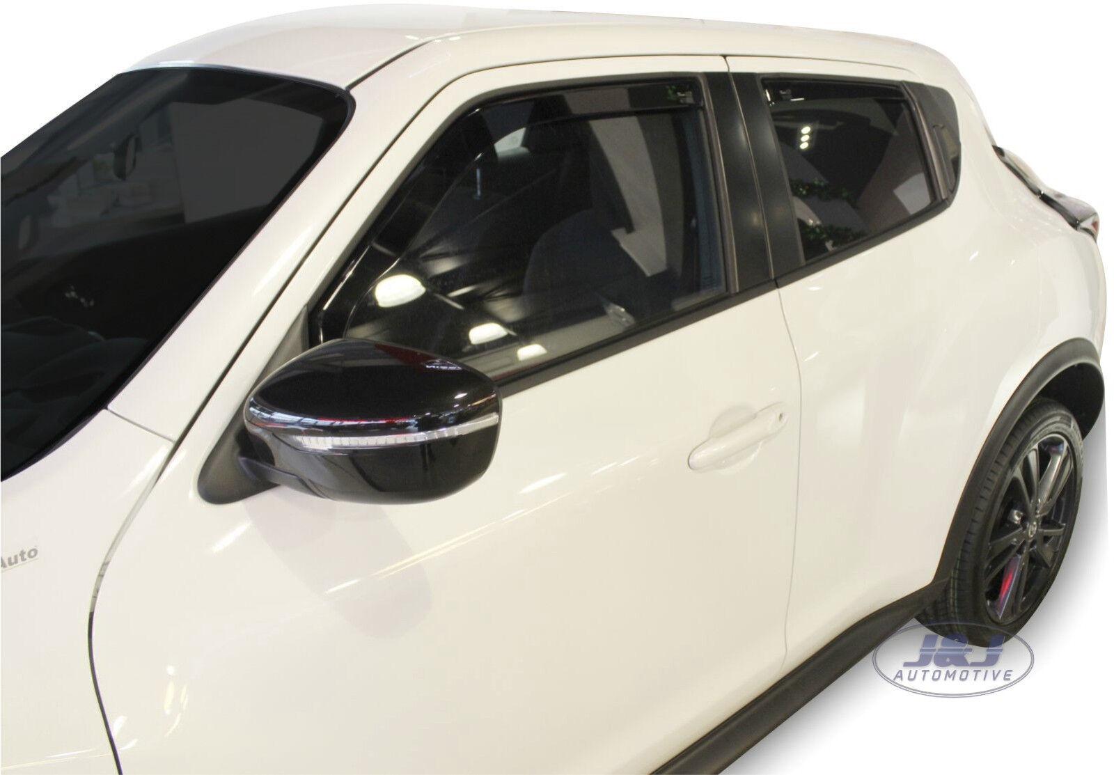 J/&J AUTOMOTIVE DEFLETTORI ARIA ANTITURBO Nissan Juke 2010-2018 4 pezzi