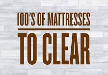 MATTRESS OUTLET - LOWEST PRICES GUARANTEED Granville Parramatta Area Preview