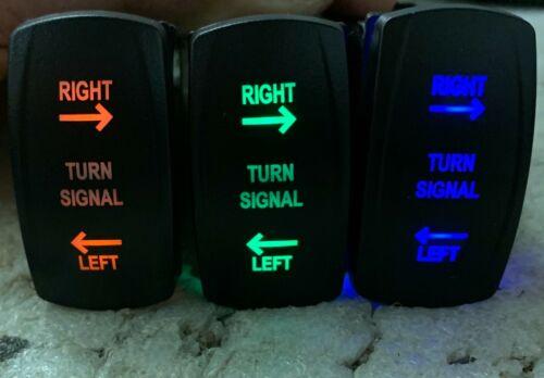 Universal Utv Rocker Switch Turn Signal Kit Blinker Street Legal Atv Sxs For Rzr