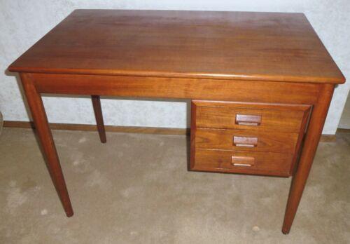 Mid Century Modern Vintage Teak Danish Writing Desk Borge Mogensen From Denmark