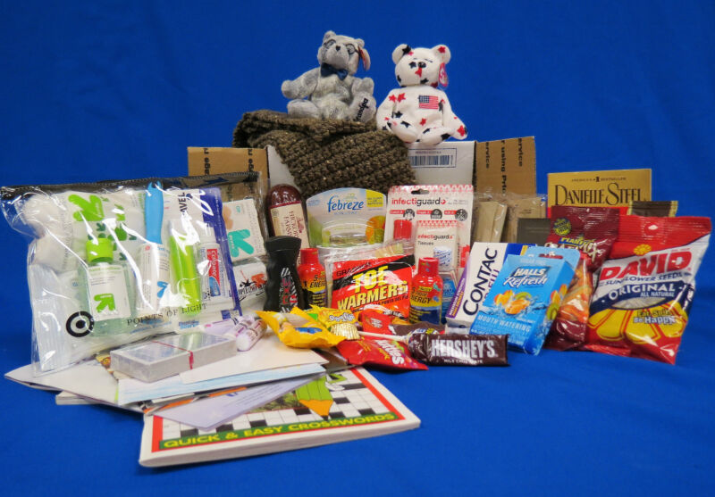 "SPONSOR THE ""PRIVATE FIRST CLASS"" CARE PACKAGE OPERATION GRATITUDE"