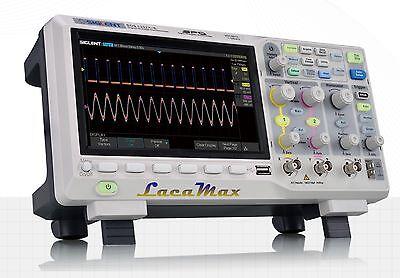 Siglent SDS1202X-E 200Mhz digital Oszilloskope SPO 1GSa/s 14 Mpts Speichertiefe