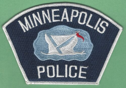 MINNEAPOLIS MINNESOTA POLICE SHOULDER PATCH SINKING SHIP