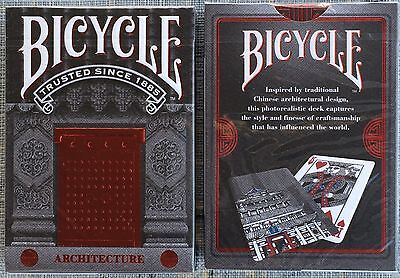 1 Deck Bicycle Architecture Playing Cards~New~Limited Edition~Free Shipping