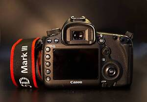 Canon EOS 5D Mark III MK 3 22.3mp DSLR Camera Body + camera bag Parramatta Parramatta Area Preview