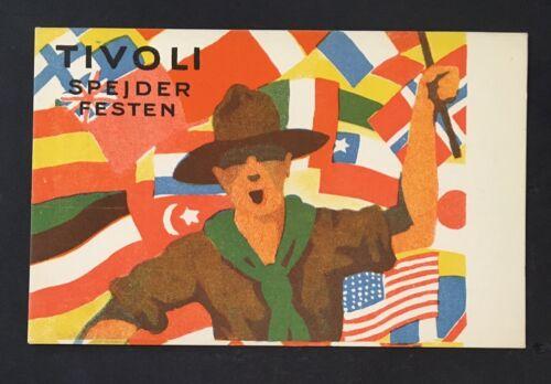 2019 1924 World Scout Jamboree postcard  RARE