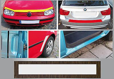 Lackschutzfolie Schutzfolie transparent für alle Fahrzeuge 100 x 20 cm