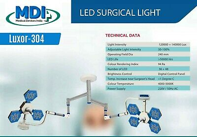 Surgical Led Light Ceiling Mobile Wall Mounted No Of Led 36 48