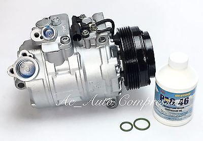2000-2005 BMW 525 528 530 540 740 M3 M5 Z8 ci, i, xi OEM Reman A/C Compressor.