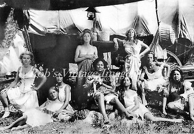 Klondike Old West  Brothel Girls Soiled Doves Photo Madam Kate Traveling Brothel