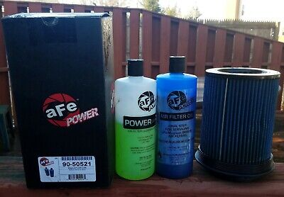 Afe Air Filter Cleaning (aFe Power 24-91063 Magnum FLOW Pro 5R Universal Air Filter with cleaning kit )