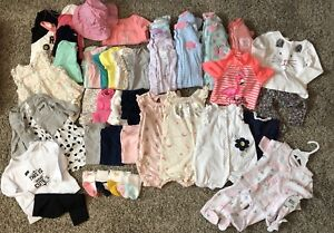 Baby Girl 9mos Clothing LOT-49 items