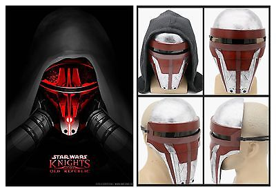 Star Wars Darth Revan Mask Resin Marvel Movie COSplay Halloween Props XCOSER - Star Wars Mask