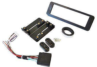 HARLEY DAVIDSON FLHT Fairing Mount Radio Stereo Install Dash Kit w/Harness