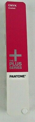 Pantone Plus Series Cmyk Coated Color Guide Great Condition