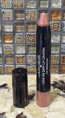 Laura Geller  Love Me Dew Lip Crayon Full Size   Fig Prosecco  17 Retail