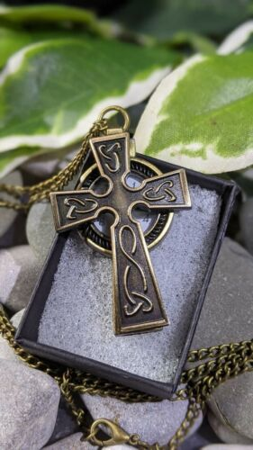 Celtic+Cross+Steampunk+Gothic+Victorian+Style+Pendant+Watch