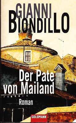 Biondillo - DER PATE VON MAILAND Kriminal Thriller TB